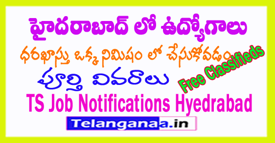 Telangana Jobs in Hyderabad Marketing Executive Jobs