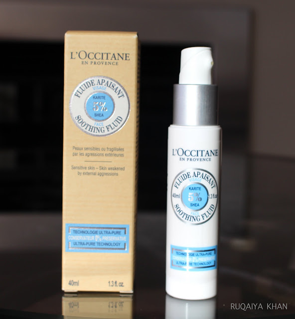 LOccitane Face Soothing Oil Review