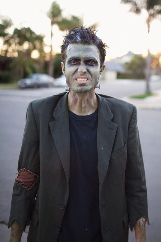 Maquiagem Halloween Masculina
