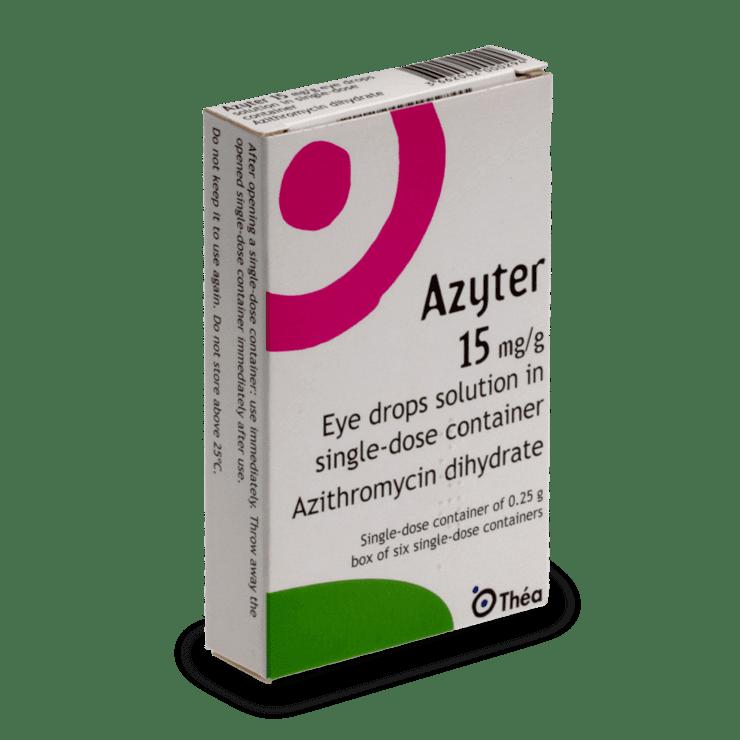 Azithromycin Azyter Macrolide Antibacterial Eye Drops Pharma