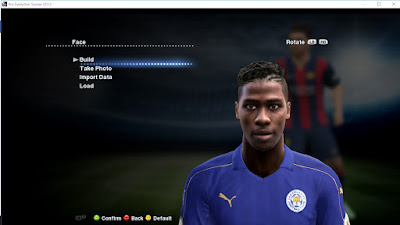 PES 2013 PESEdit.com Patch Option File 05/08/2017 by Boris Season 2017/2018