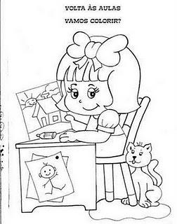 Atividades E Desenhos Volta às Aulas Mundinho Da Criança