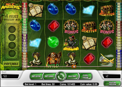 play relic raiders free slot