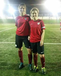 La cantera femenina sigue avanzando. Amara y Ainhoa, representarán al Athletic Club de Bilbao en Getxo.