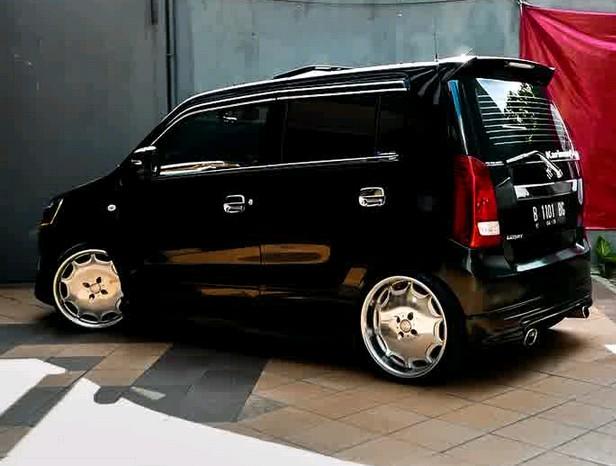 Gambar Modifikasi Keren Mobil Suzuki Karimun Wagon R