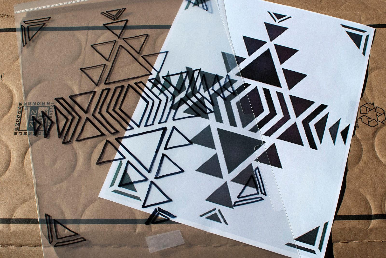 Strawberry Roan: Tutorial - DIY Aztec Print Tote Bag