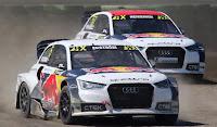 rallikrosta Audi ler ilk ikide