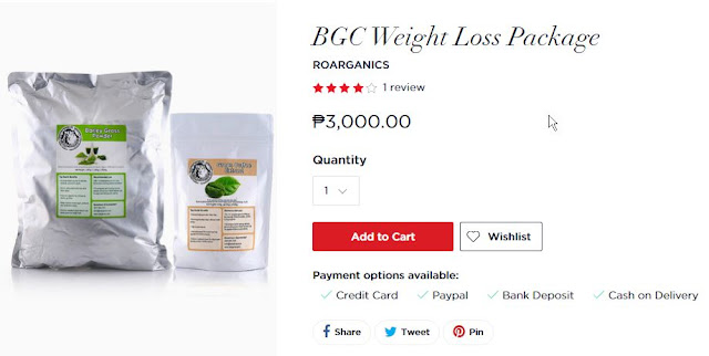 Beauty MNL: BGC Weight Loss Package