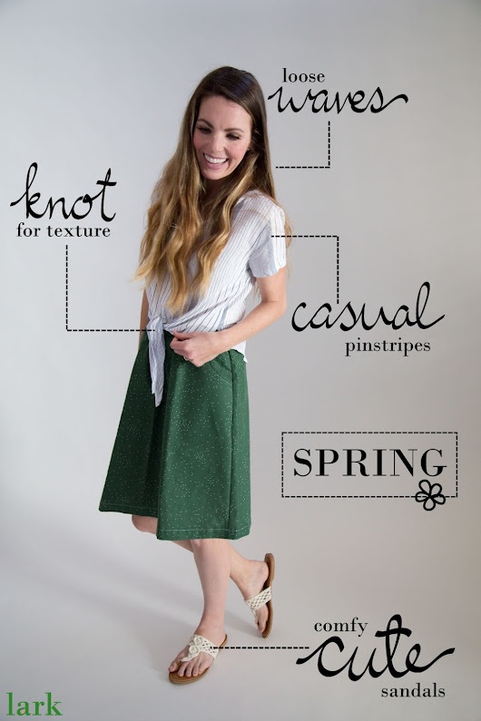 Year Round Skirt Style with Lark Skirts
