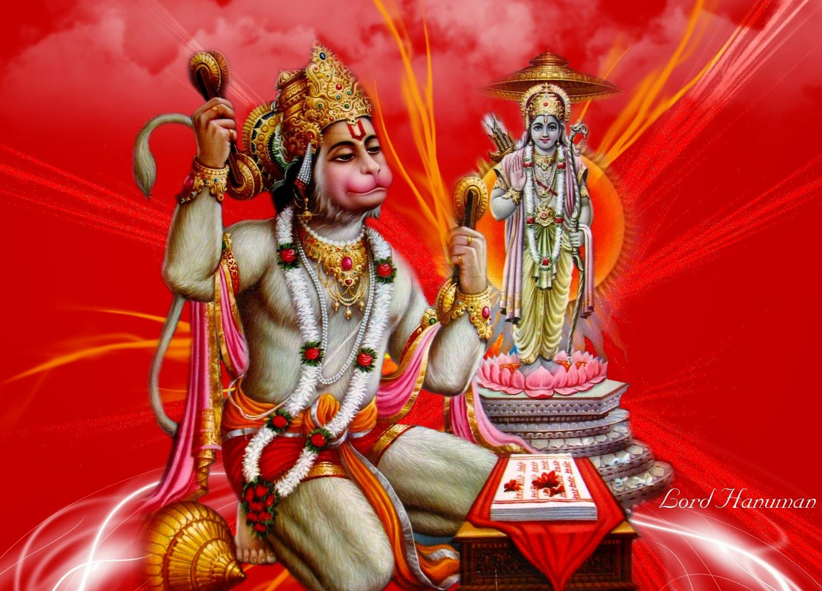 Lord Hanuman HD Wallpaper ~ Gods Paradise