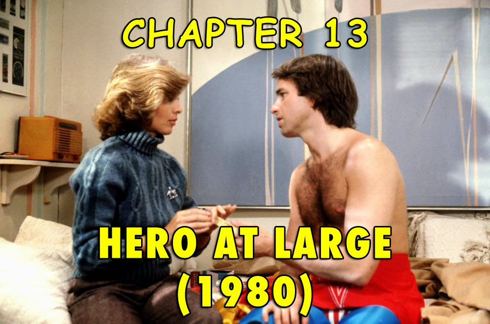 John Ritter Anne Archer Hero At Large 1980 Captain Avenger