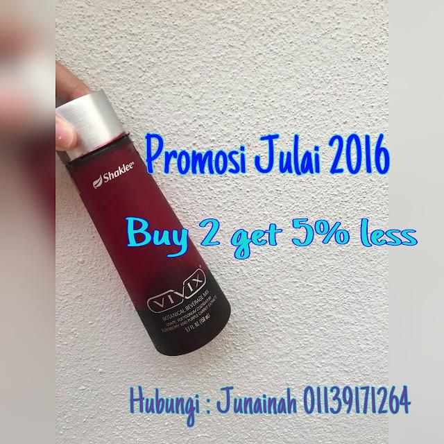 Promosi Vivix Julai 2016