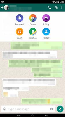 Cara Mengirim File Dokumen Melalui WhatsApp Android