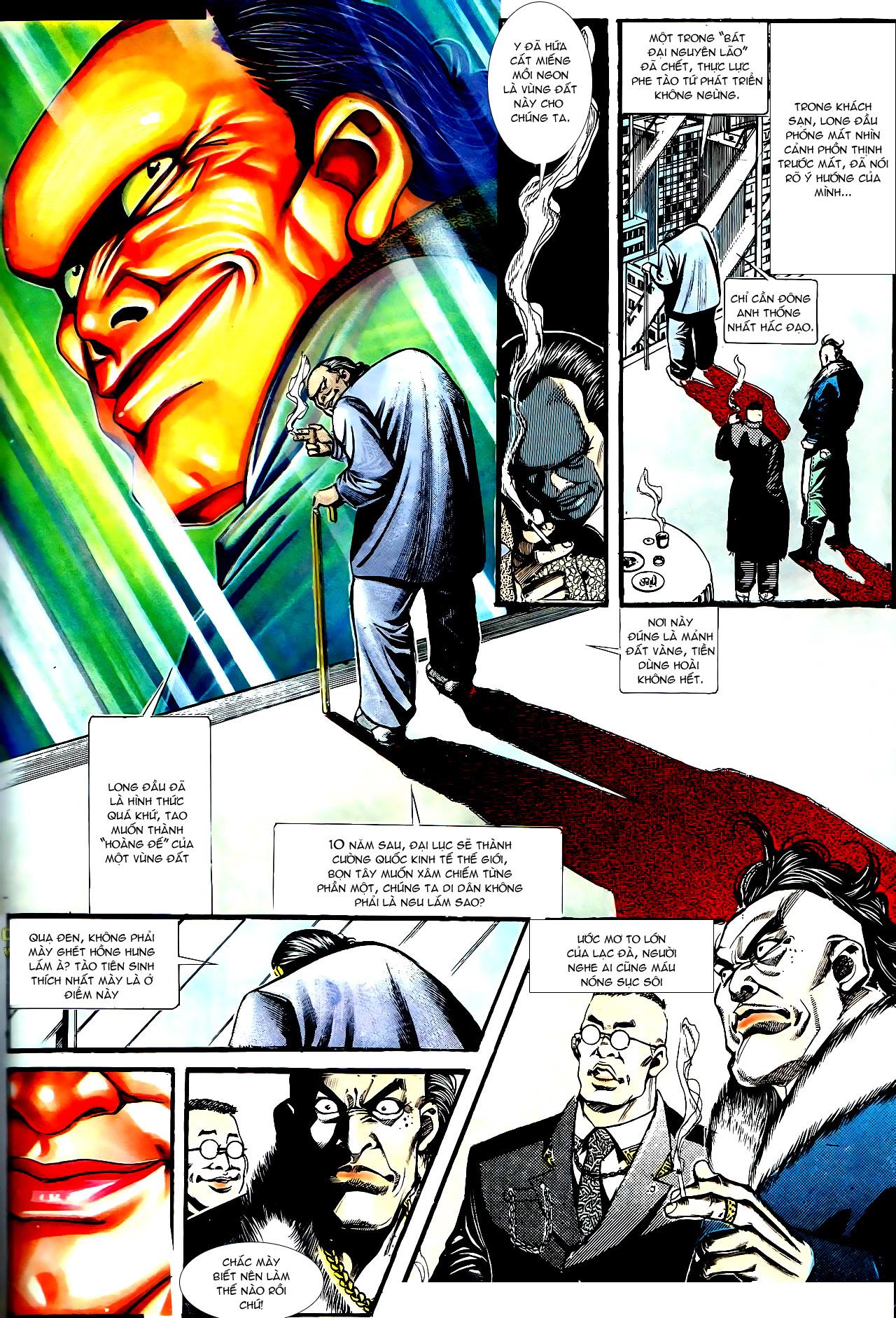 Người Trong Giang Hồ chapter 158: bang phái thanh trừng trang 2