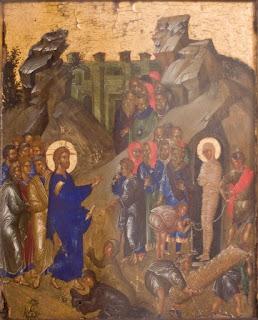Γιατί άραγε η Εκκλησία προβάλλει τόσο πολύ   την περίπτωση της ανάστασης του Λαζάρου;