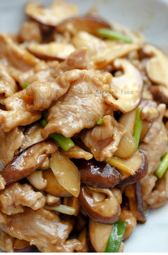 Pork and Mushroom Stir Fry