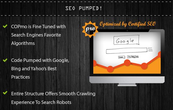 COPmo: Best Responsive Blogger Template [HQ]