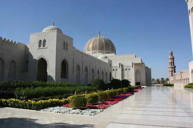Grande Moschea del Sultano Muscat Oman