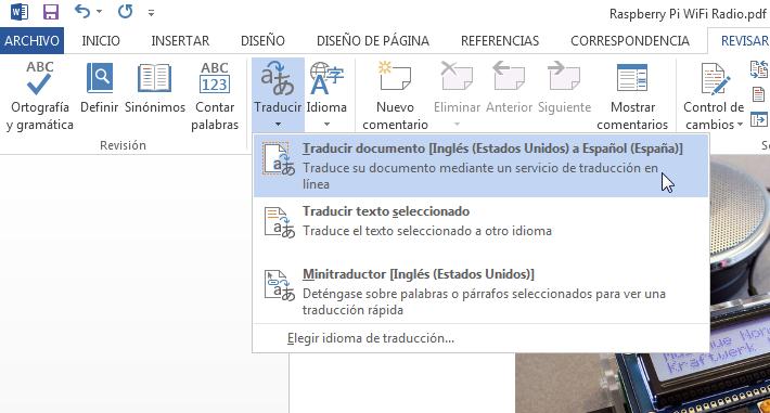 Iceberg Black: Traducir PDF Del Ingles Al Español Con WORD