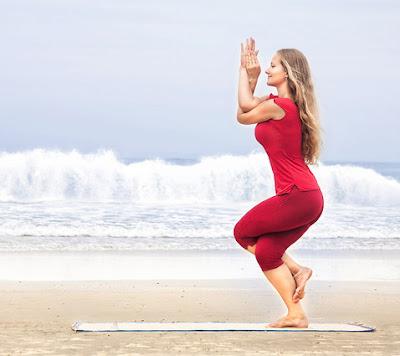 Series 26 tư thế Hot Yoga: ngày 4- tư thế Đại bàng