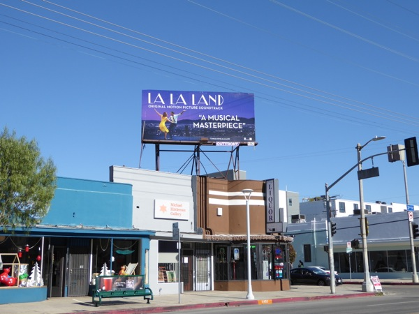 La La Land movie soundtrack billboard