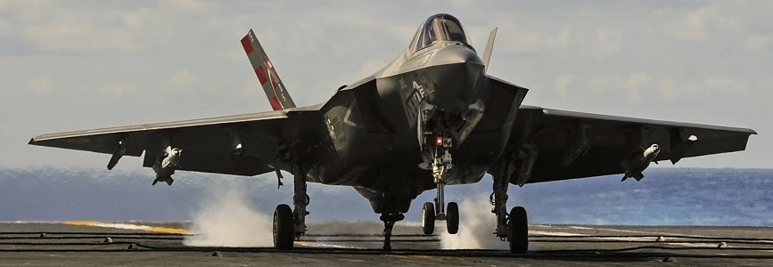 Для винищувачів F-35С створили власний курс TOP GUN