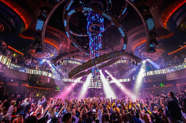 Balada Omnia Nightclub no Hotel Caesar's Palace em Las Vegas