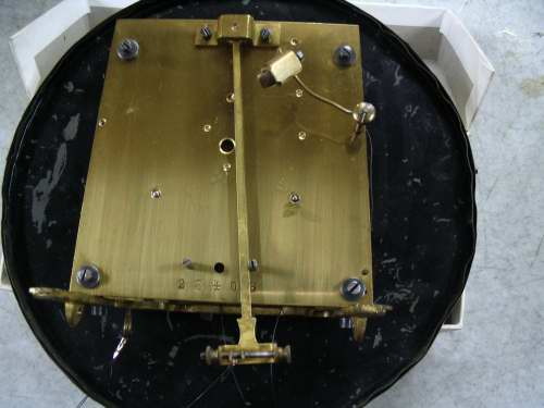 Clock Repair in Kuala Lumpur: Vienna Twin Weight Wall Clock