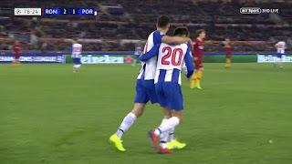 اهداف مباراة روما وبورتو 2-1  دوري أبطال أوروبا 12-02-2019