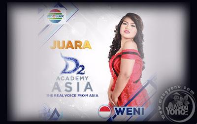Weni Juara Pertama Dangdut Academy Asia 2