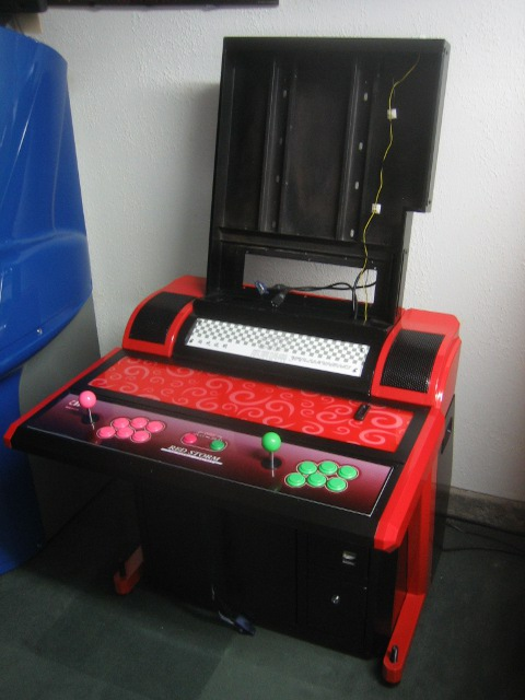 Confessions Of An Arcade Addict Red Storm 32 Quot Lcd Arcade