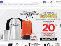 Berburu Perlengkapan Pokemon Go di blanja.com
