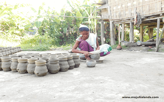 Village Pottery Culture Of Majuli Island