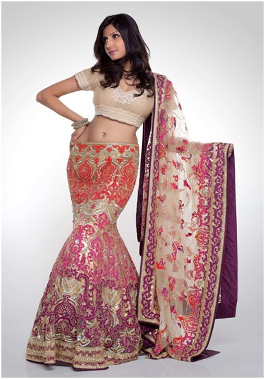 Fishtail Bridal Lehenga