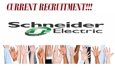 CURRENT RECRUITMENT: SCHNEIDER ELECTRIC RECRUITMENT 2021