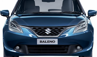 New 2016 Maruti Suzuki Baleno front side view