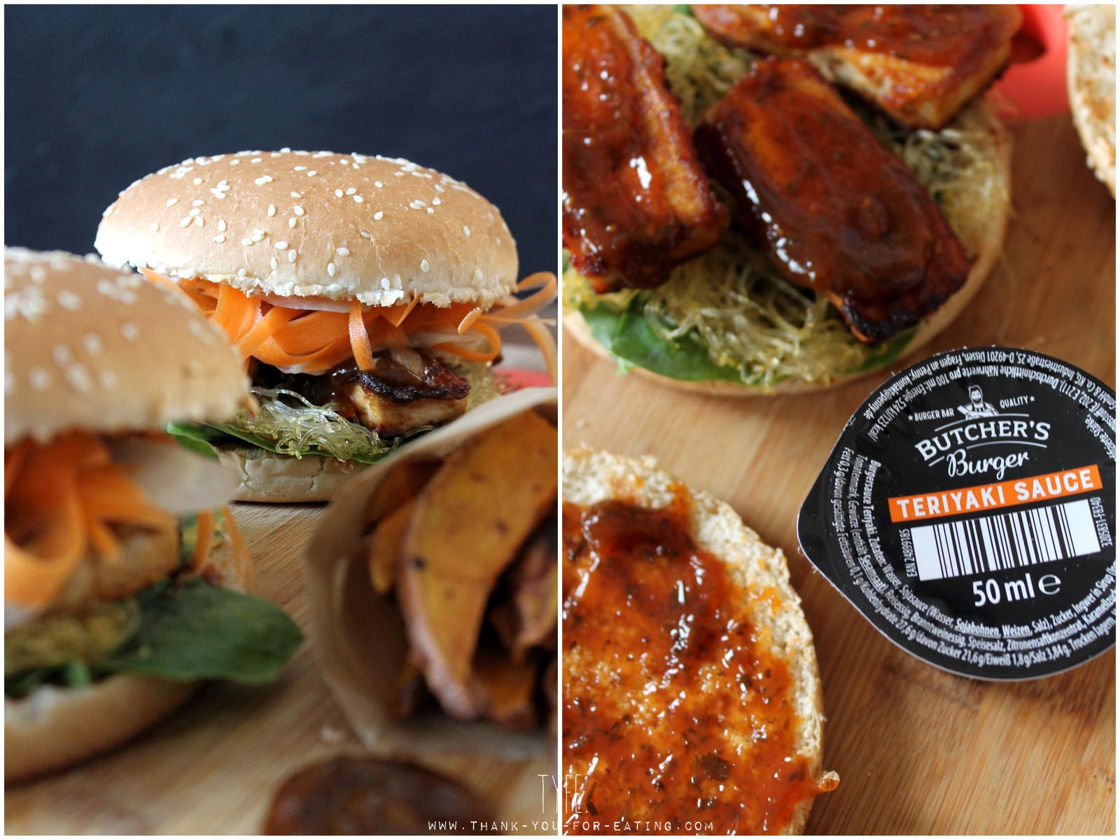 Vegetarischer Burger mit Tofu Butcher's Burger Penny