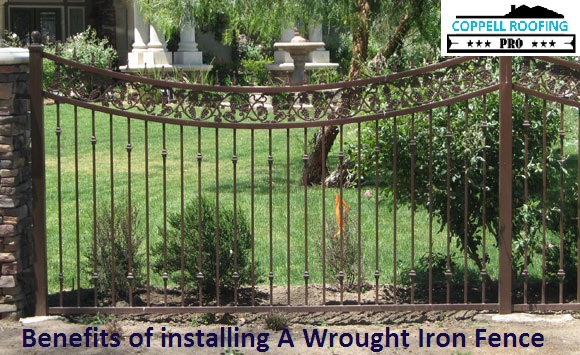 Benefits of installing A Wrought Iron Fence at home