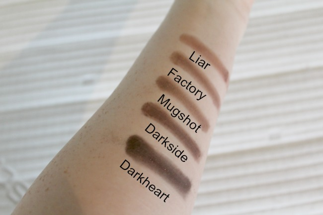 Urban Decay's Naked 3 palette swatches and review. Nourish ME: www.nourishmeblog.co.uk