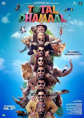 Poster Total Dhamaal 2019 Hindi HD 1080p