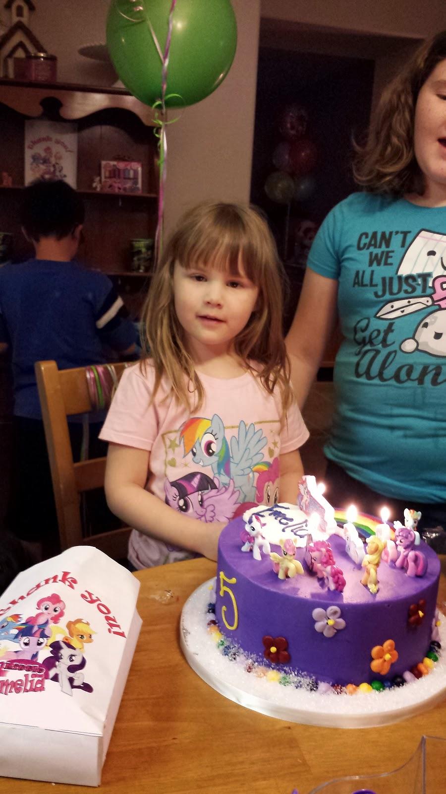 City Kitty S Blog Spot Diy My Little Pony Party For My
