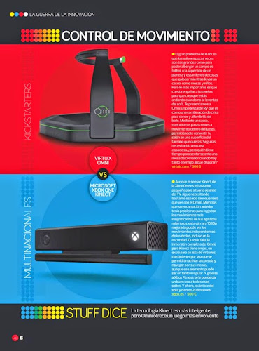 Revista Kickstarters vs Multinacionales Junio 2014 Stuff