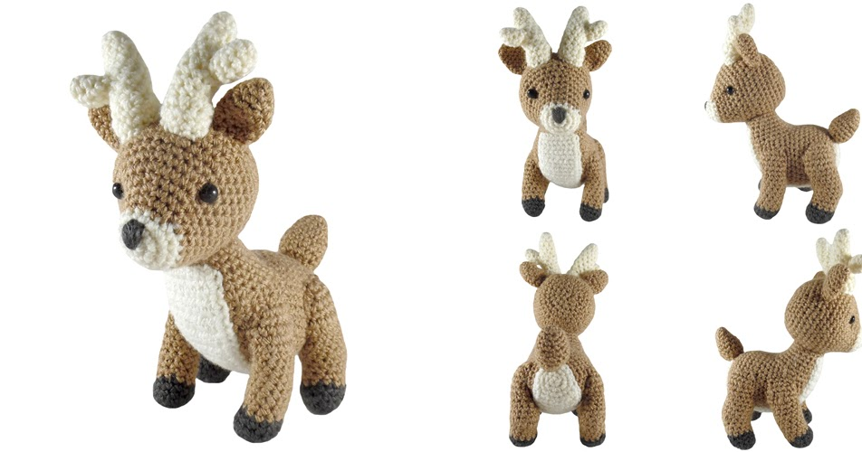 Game Of Thrones Amigurumi Pattern Free : i crochet things: Pattern: Game of Thrones Baratheon Stag ...