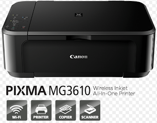 Canon PIXMA MG3610 is an all-in-one Wireless Inkjet printer that gives remarkable results and also supplies convenience and simplicity for all Your everyday printing demands