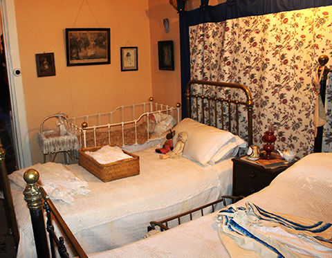Children's room at Lindfield House Museum