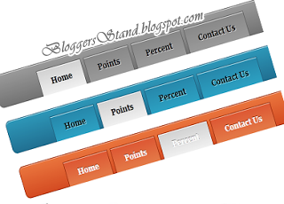 Add Cool Pure CSS3 Navigation Menu Bar