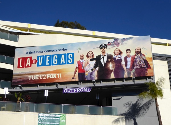 LA to Vegas series launch billboard