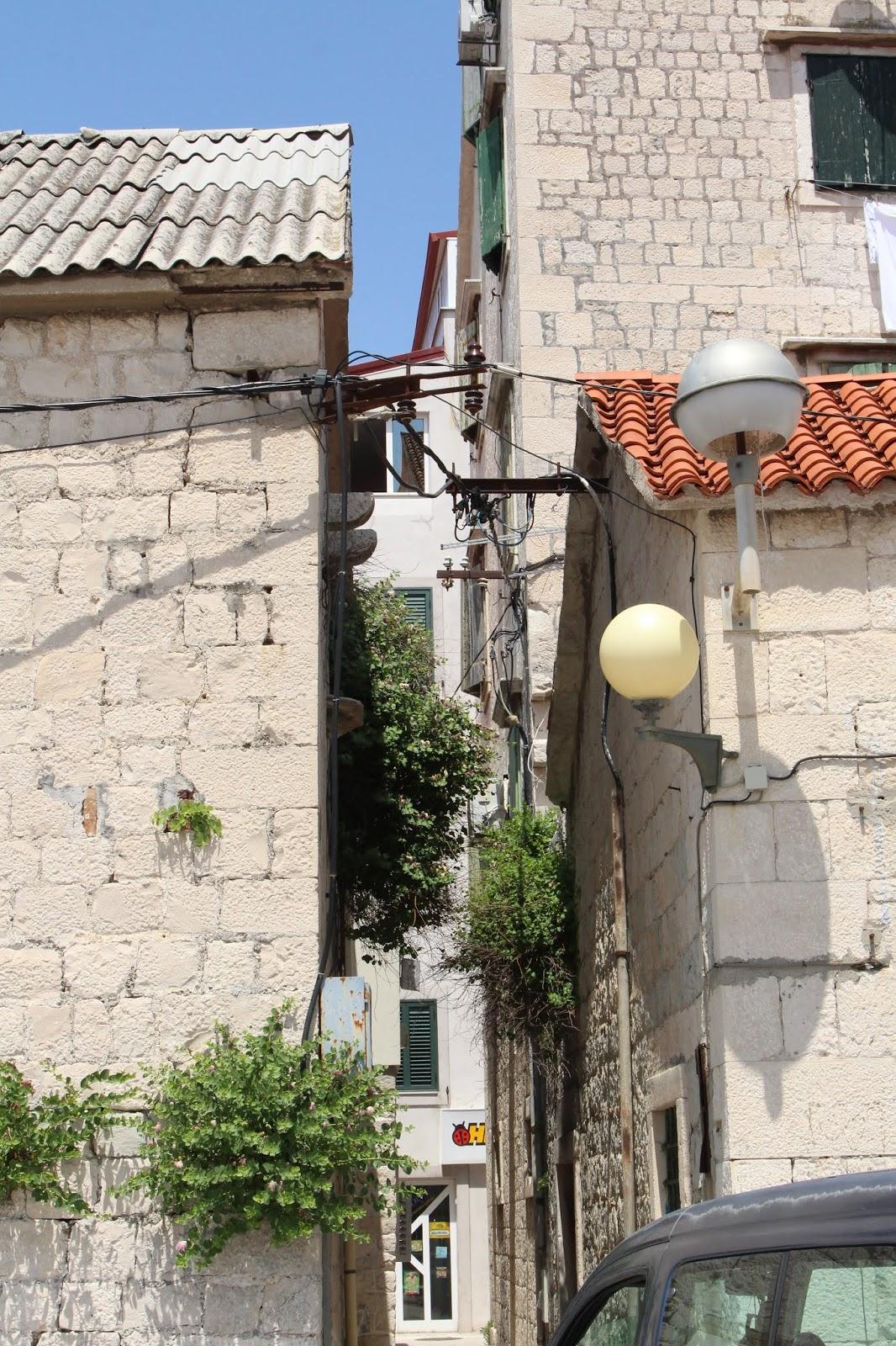 Kaštel Stari - eins der Kastelle zwischen Trogir und Split
