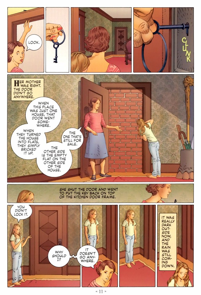 Read page 11, from Nail Gaiman and P. Craig Russell's Coraline graphic novel