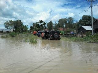 Banjir Bandang Terjang Lutra, 14 Ribu Rumah Terendam